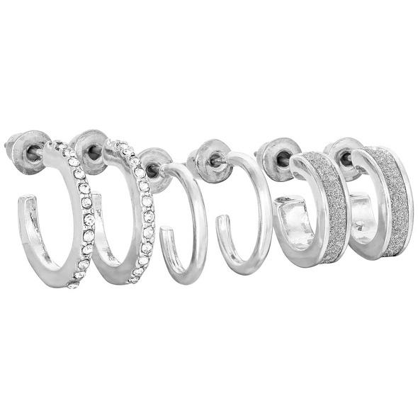 Ohr-Set - Silver Glimmer