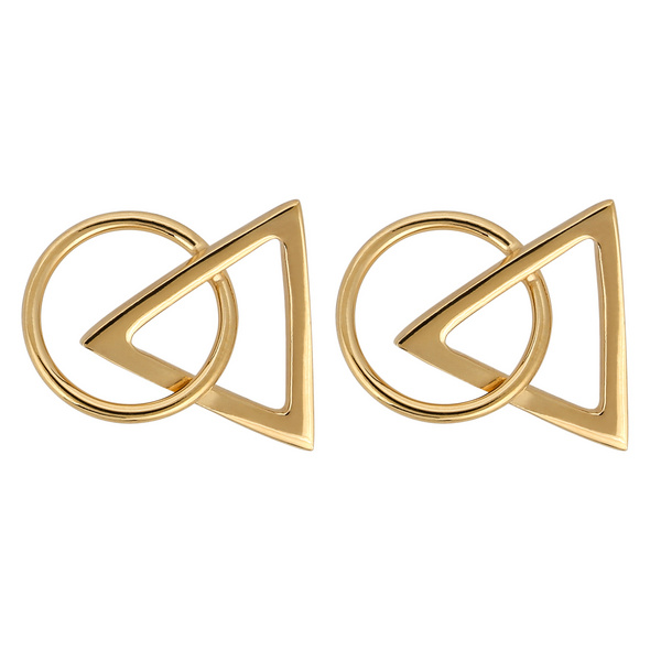 Ohrstecker - Gold Geometric
