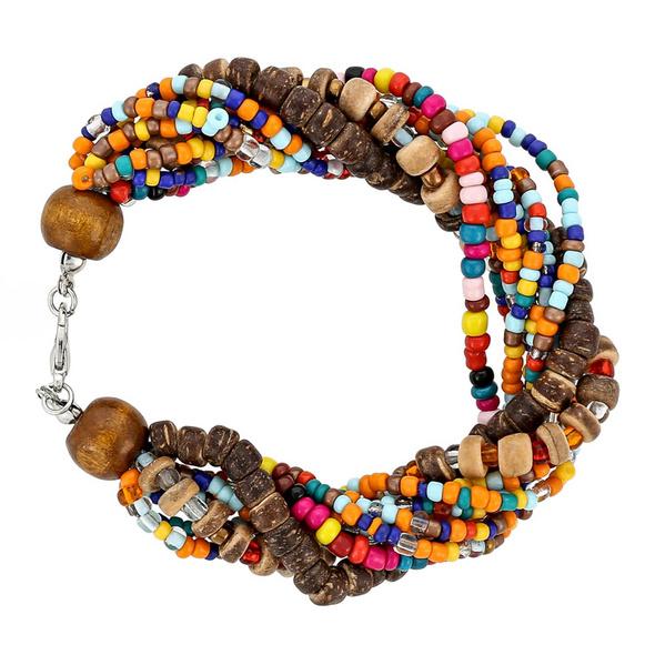 Armband - Colourful Beads