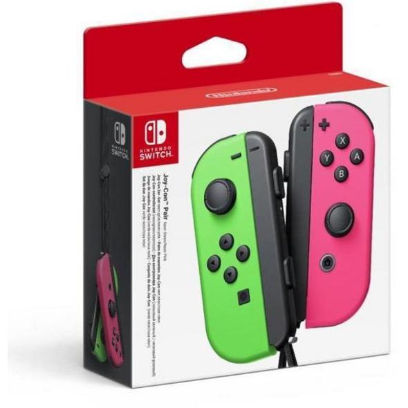 JoyCon 2er-Set grün pink