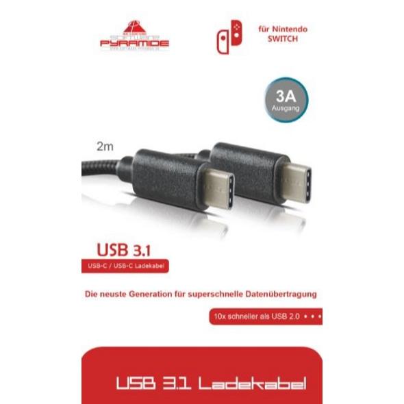 Nintendo Switch AK Tronic Typ-C Ladekabel