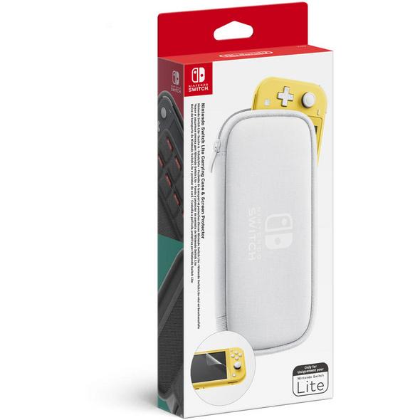 Nintendo Switch Lite - Tasche + Schutzfolie