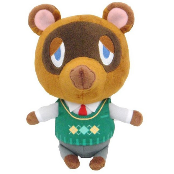 Animal Crossing - Plüschfigur Tom Nook