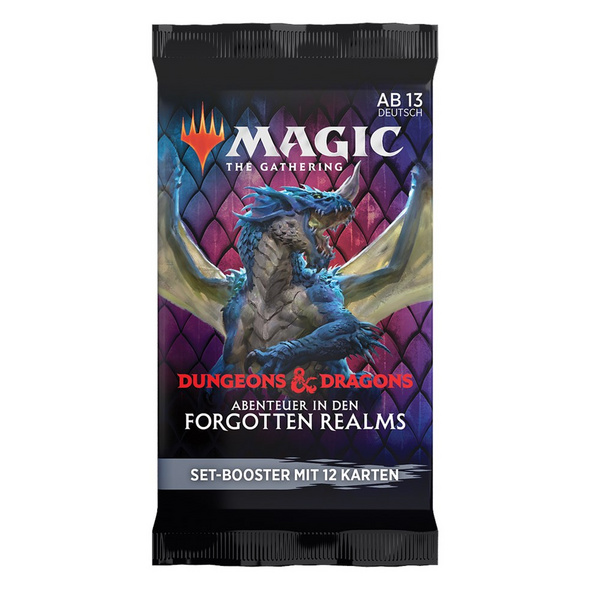 Magic the Gathering: Dungeons & Dragons - Abenteuer in den Forgotten Realms Set Booster-Pack