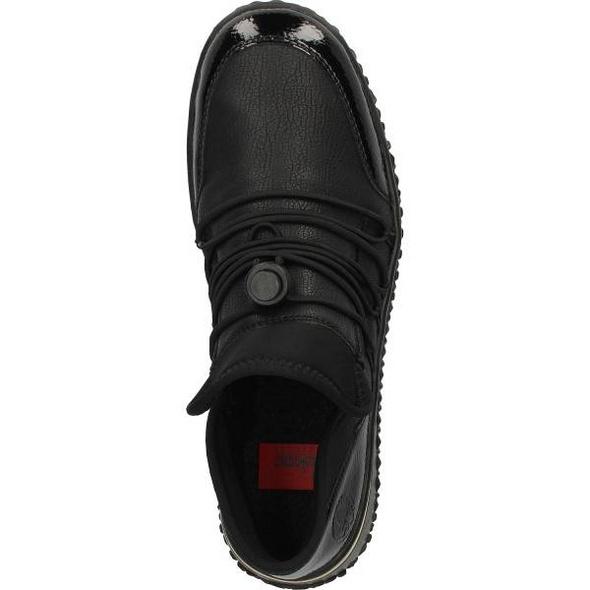 Sneaker in Lederoptik