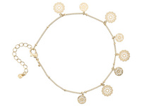 Fußkette - Golden Ornament