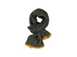 Schal aus Noppengarn