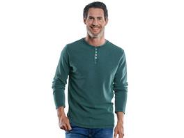 Henley Shirt mit schöner Waffelstruktur