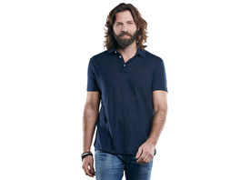 Hochwertiges Poloshirt aus reinem Leinen