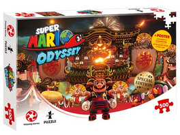 Super Mario Odyssey - Puzzle Bowsers Schloss