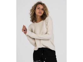 Pullover mit Karostrickmuster