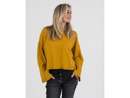 Pullover mit breiten Bündchen