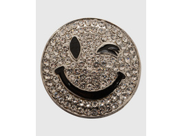 Smiley Magnetbrosche