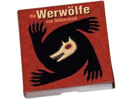 Asmodee LUDD0004 - Werwölfe von Düsterwald, Kartenspiel, Interaktionsspiel