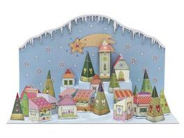 Adventskalender 'Zauberhafter Weihnachtsmarkt'